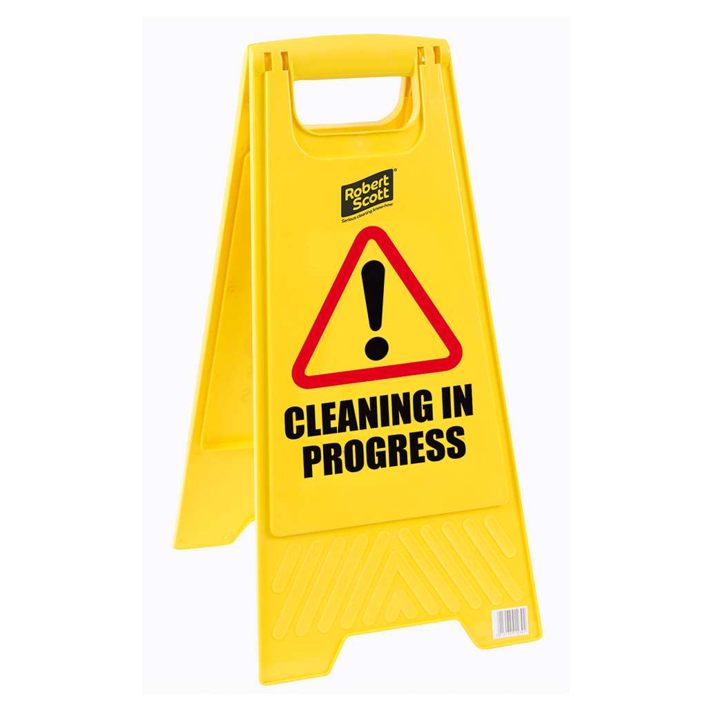 Cleaning in Progress Standard Safety Floor Sign