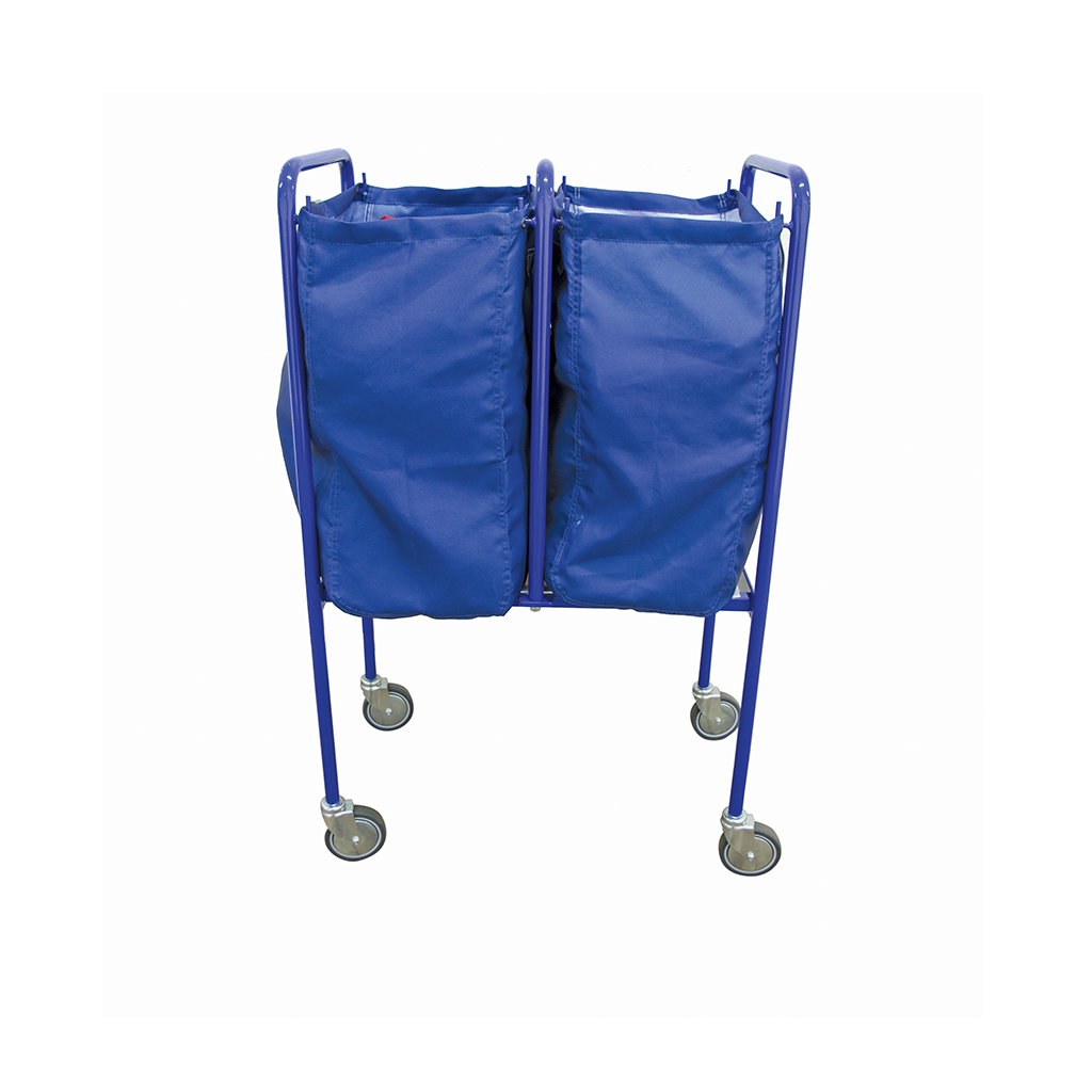 Double Laundry Trolley Bag