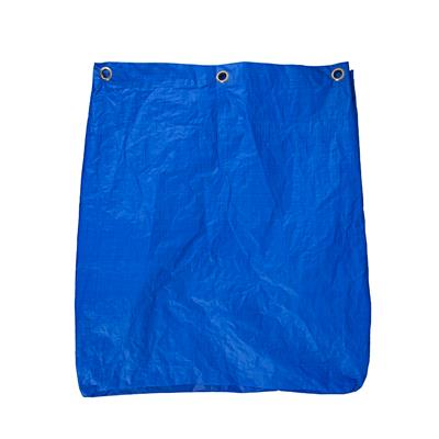 Blue Vinyl Bag for Folding Waste Cart 205L