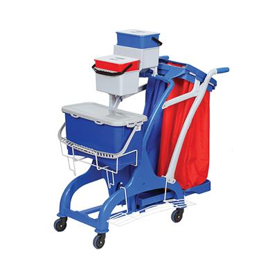 Rokleen Midi Pre-soaked Mopping Trolley