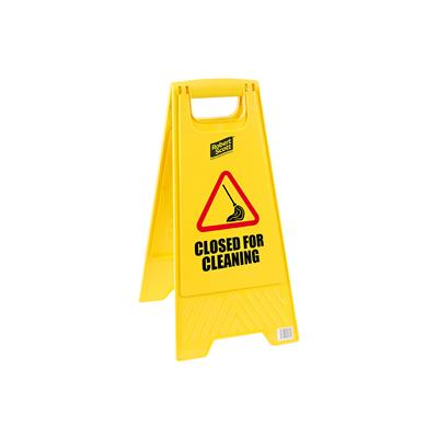Closed for Cleaning Standard Safety Floor Sign