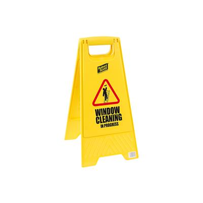 Window Cleaning Standard Safety Floor Sign