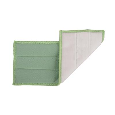 Cleano Glass Microfibre Pad Green