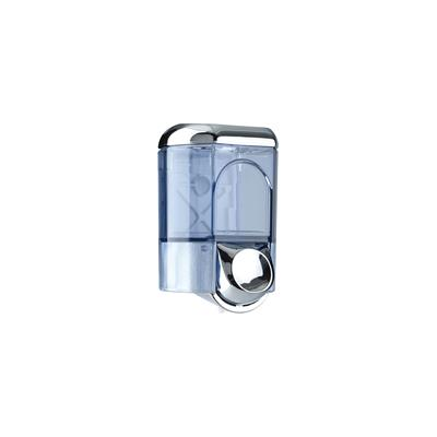 0.35L Soap Dispenser Chrome & Transparent