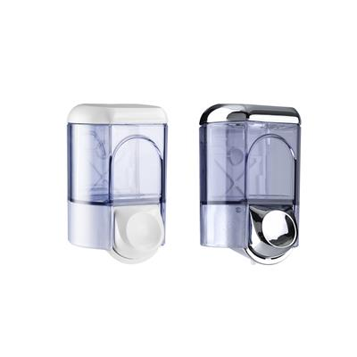 0.35L Soap Dispenser White & Transparent