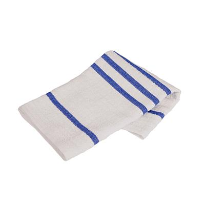 Terry Waffle Cloth Blue Stripe